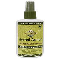 All Terrain, Травяная защита, натуральный репеллент от насекомых в виде спрея, не содержащий диэтилтолуамид. 4 жидких унции(120 мл)