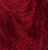 Пряжа Мохер нью классик, темно-красный 327