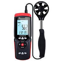 Анемометр, USB, 0.3-45м/с, 0-45°C, 10-90%, Benetech GT8907, фото 1