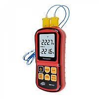 Термопарный термометр, -250-1767°C, Benetech GM1312