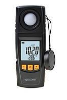 Измеритель уровня освещенности, люксметр, термометр, USB, Benetech GM1020, фото 1