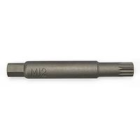 Насадка для разборки стоек L100мм SPLINE M12  TOPTUL JEAW0412