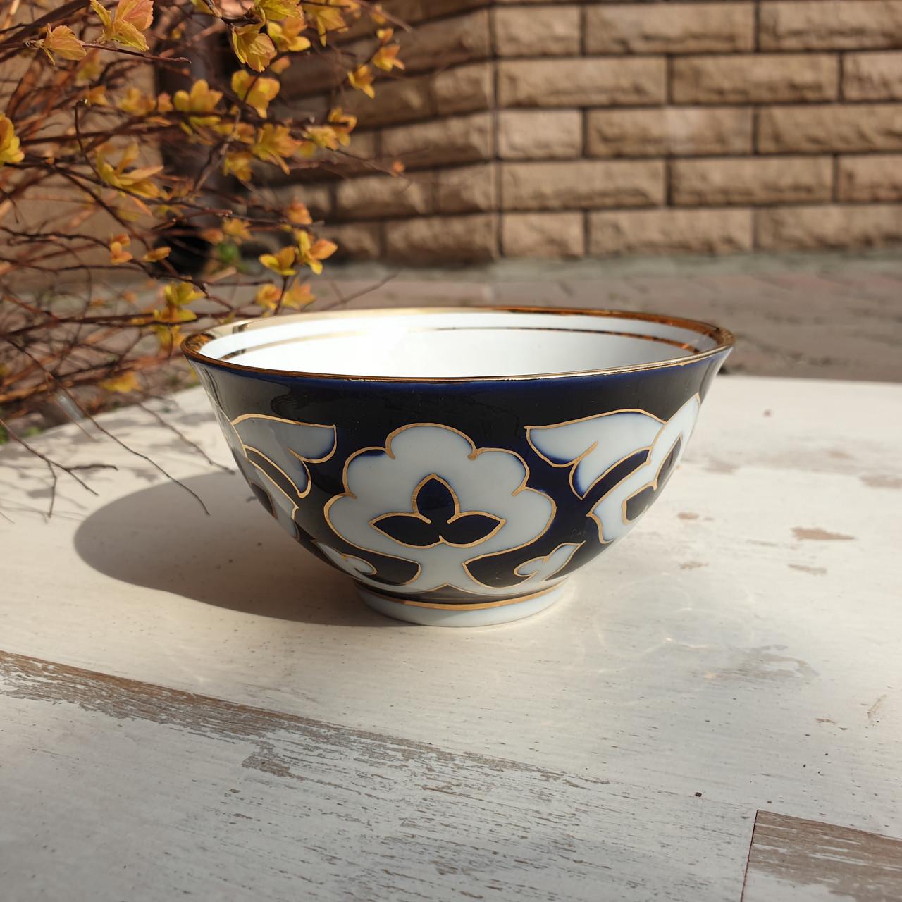 "Пиала чайная ""ПАХТА"" ~250 мл, d 11.5 см. Узбекистан"