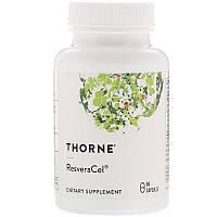 Thorne Research, ResveraCel, 60капсул
