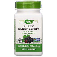 Nature's Way, Черная бузина, 575 мг, 100 вегетарианских капсул