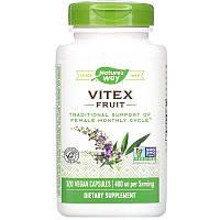 Nature's Way, Витекс священный Vitex Fruit, 400 mg, 320 веган капсул