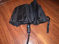 Зонт полуавтомат  чёрный, фото 1