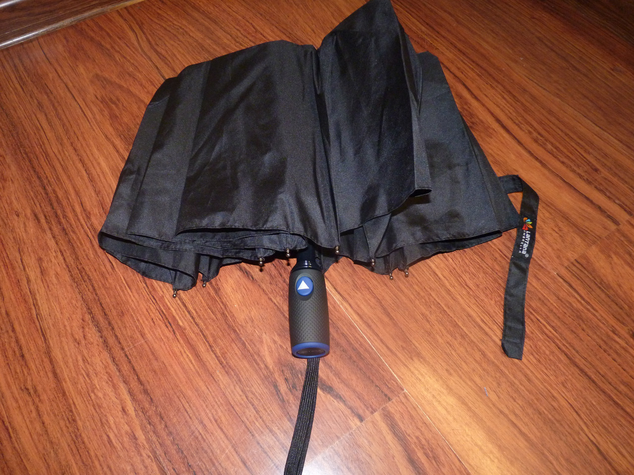 Зонт полуавтомат  чёрный