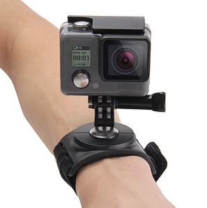 Крепление на руку/запястье для GoPro,Xiaomi,Osmo Action PULUZ