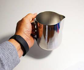 Пітчер для молока з нержавіючої сталі без кришки 0,5 л (7661), фото 2