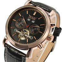 Мужские наручные часы Jaragar 540 Black-Cuprum-Black