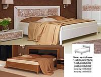 ФЛОРА Ліжко 1,6 з профілем, підйомне