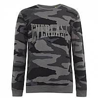 Толстовка Everlast Everlast Camo Crew Sweater Black AOP - Оригинал