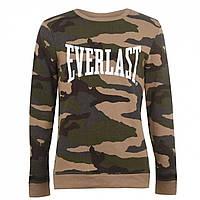 Толстовка Everlast Everlast Camo Crew Sweater Khaki AOP - Оригинал