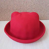 Фетровая женская шляпка с ушками. Опт и розница.
