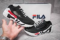 Кроссовки женские Fila Mino One, Кеды Фила черные, жіночі кросівки.
