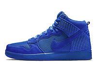 Мужские кроссовки Nike Dunk Cmft Premium Navy размер 43 (Ua_Drop_310016-43)