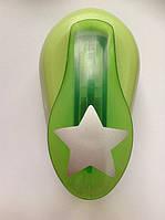 Дырокол фигурный Звезда рычаг 2,5 см