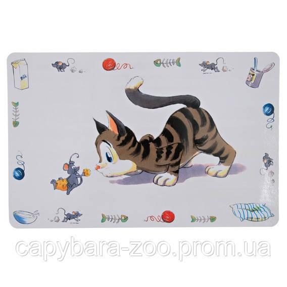 Trixie (Трикси) Place Mate Comic cat Коврик под миску для кошек - Интернет-магазин Капибара в Киеве