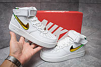 Кроссовки женские Nike Air Force 07, Найк Аир Форс белые, жіночі кросівки.
