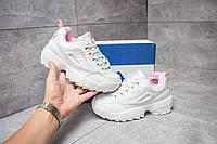 Кроссовки женские Fila Disruptor 2, Фила белые, жіночі кросівки.