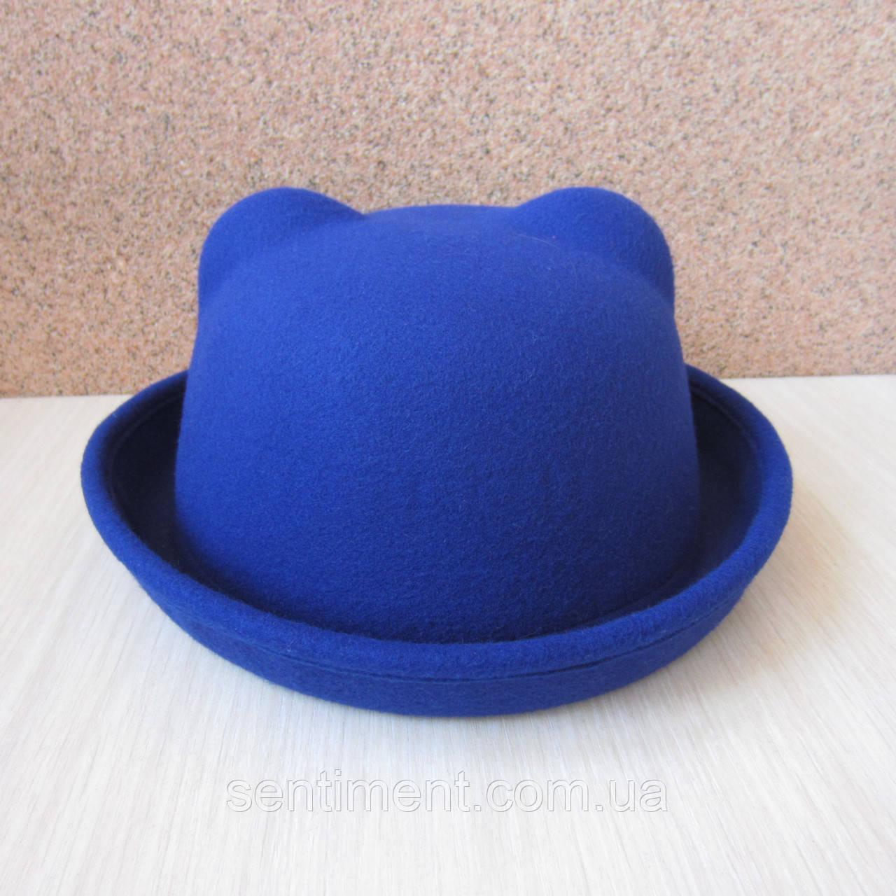 Шляпка фетровая с ушками. Опт и розница.