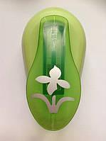 Дырокол фигурный Цветок рычаг 2,5 см