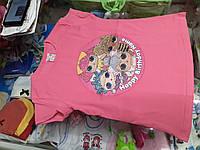 Детская футболка для девочки Куклы Лол размер 110 116 122 128