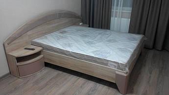 """Кровать двухспальная """"Аляска""""  без ламелей"""