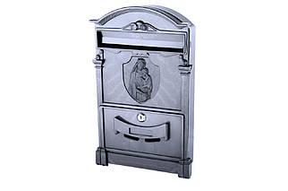 Почтовый ящик Vita - Дева Мария (черный) (PO-0022), (Оригинал)