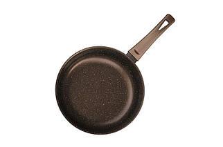 """Сковорода антипригарна Біол - 280 мм """"класик-декор"""" коричнева (28076П), (Оригінал)"""