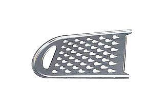 Терка кормовая HozPlast - 190 x 340 мм полукруглая оцинкованная (К091), (Оригинал)