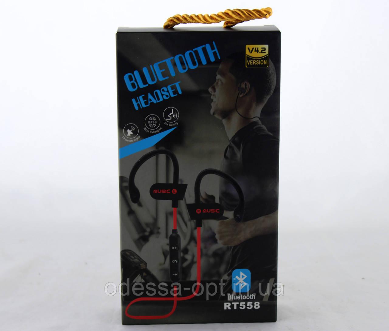 Наушники ваккумные с микрофоном MDR RT 558 BT