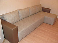 Перетяжка гостевого угла. Перетяжка мебели Днепр., фото 1