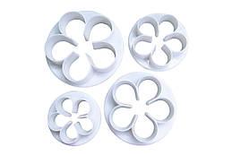 Набір форм для печива Empire - роза (4 шт) (8502), (Оригінал)