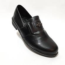 Туфлі жіночі на низькому ходу з гумкою красиві модні