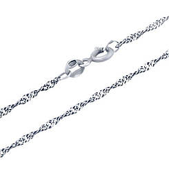 Серебряная цепочка pSilverAlex без камней (0033921) 450 размер