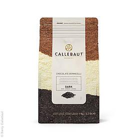 """Декор из черного шоколада """"Вермишель"""", Callebaut"""