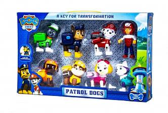 Детские игрушки Игровой набор DOG SWAT Щенячий Патруль Герои-спасатели (8 в 1)