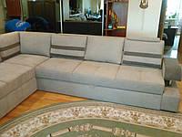 Перетяжка большого углового  дивана