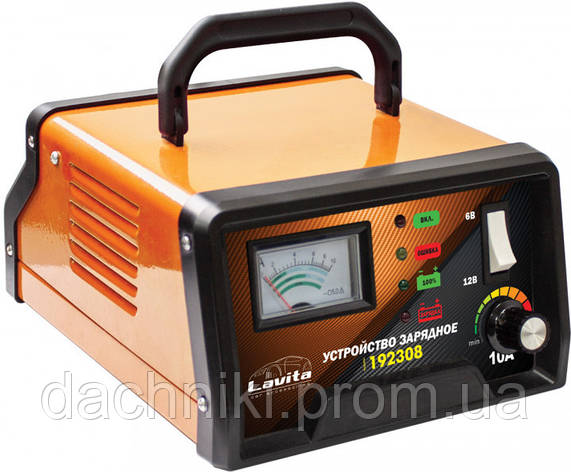 Зарядное устройство LAVITA / 10А / 6В-12В / 5-120 A\ч, фото 2