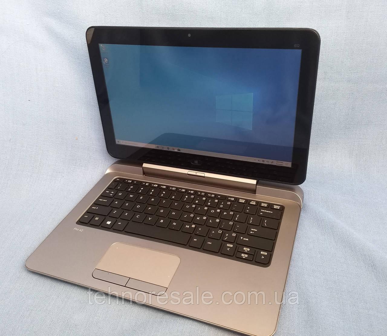 Планшет HP Pro x2 612 G1, 12,5'', 4/64Gb, Wi-fi, клавиатура, новые батареи, Windows 10 pro