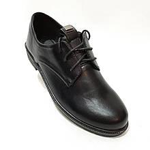 41 р. Туфлі жіночі весняні на шнурках