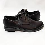 41 р. Туфли женские весенние на шнурках, фото 5