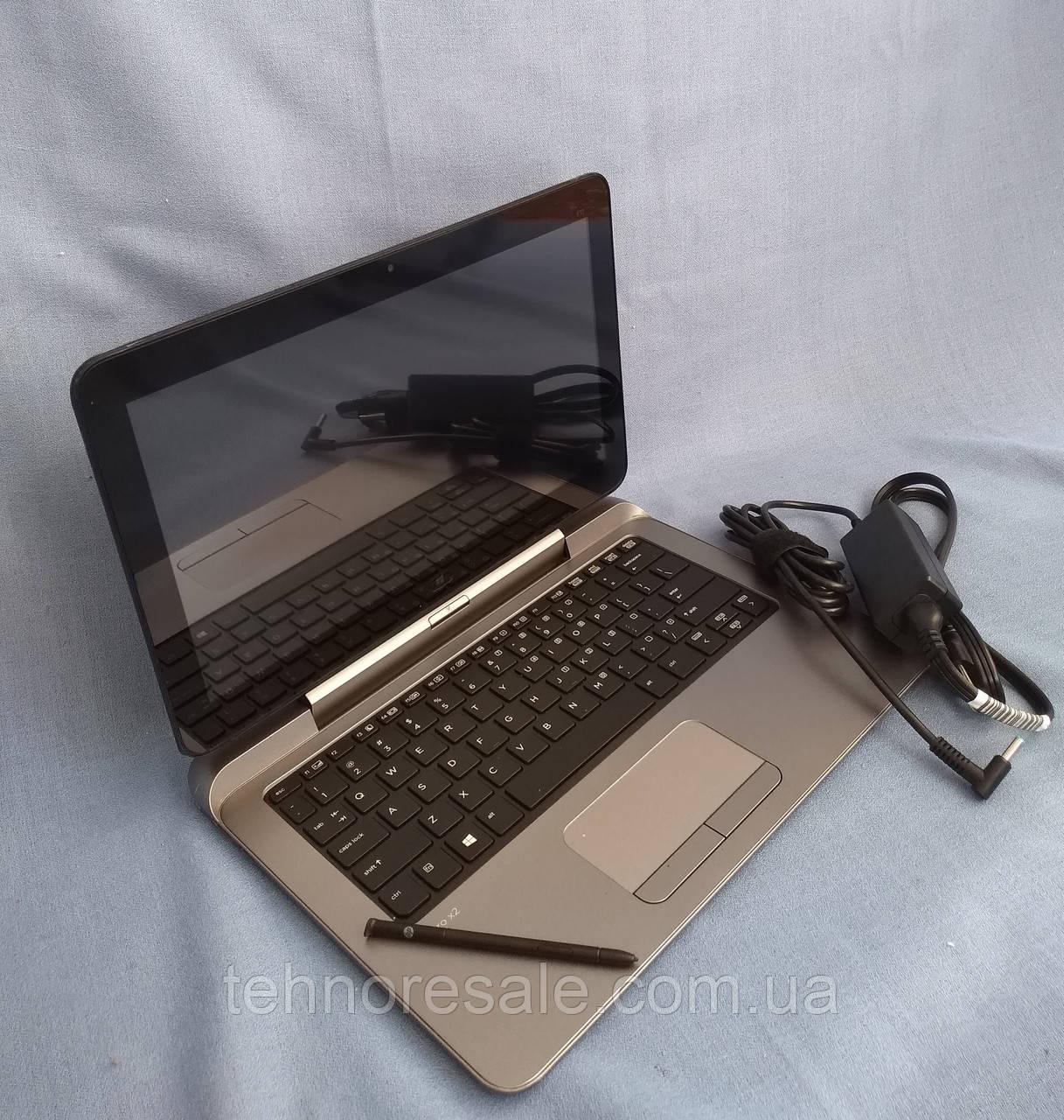 Планшет HP Pro x2 612 G1, 12,5'', 4/64Gb, Wi-fi, клавиатура, стилус, новые батареи, Windows 10 pro