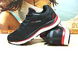 Кроссовки мужские BaaS Trend System - М черно-красные 45 р., фото 2