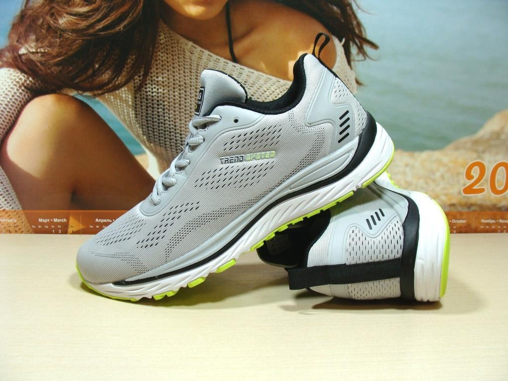 Мужские кроссовки BaaS Trend System - М светло-серые 46 р.