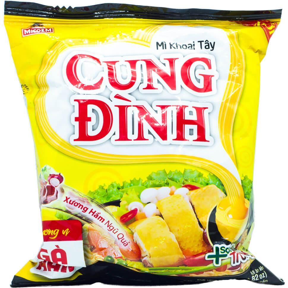 Лапша быстрого приготовления CUNG DINH с курицей Micoem 80г