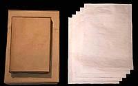 Газетная бумага 3 пачки А4 по 1000 листов 45 г/м2 Кондопога газетний папір размер 210*297мм