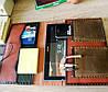 Кожаная папка органайзер чехол для планшета, смартфона, документов, пенал для ручек, ручной работы